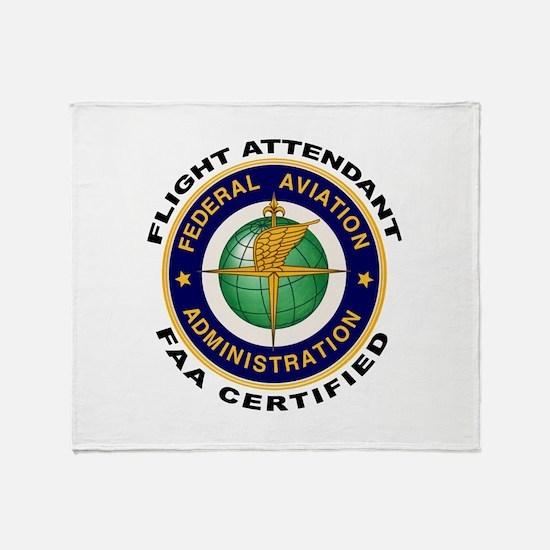 Flight Attendant Throw Blanket