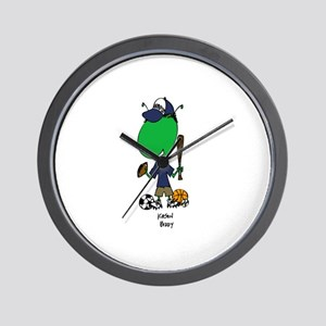 Custom Kason Biddy Wall Clock