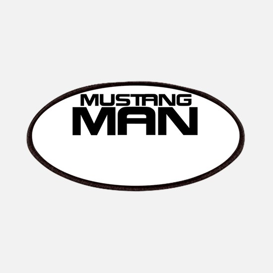 New Mustang Man Patches