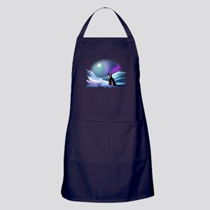 Contemplative Penguin Apron (dark)