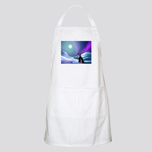 Contemplative Penguin Apron