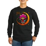 Xmas cat Long Sleeve Dark T-Shirt