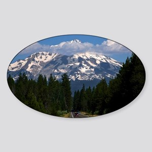 Shasta on the Road Again Sticker (Oval)