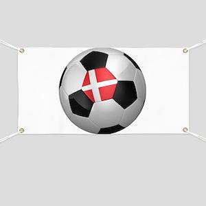 Danish soccer ball Banner