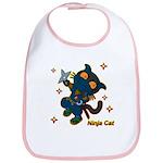 Ninja cat Bib