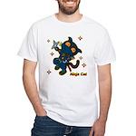 Ninja cat White T-Shirt