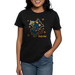 Ninja cat Women's Dark T-Shirt