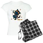 Ninja cat Women's Light Pajamas