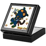 Ninja cat Keepsake Box