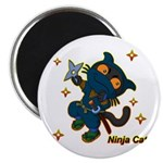 Ninja cat Magnet