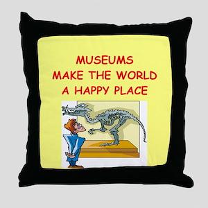 museum Throw Pillow