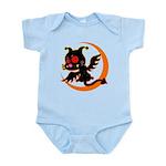 Devil cat 1 Infant Bodysuit