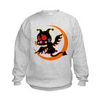 Devil cat 1 Kids Sweatshirt