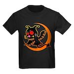 Devil cat 1 Kids Dark T-Shirt