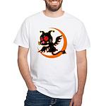 Devil cat 1 White T-Shirt