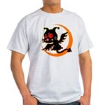 Devil cat 1 Light T-Shirt