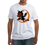 Devil cat 1 Fitted T-Shirt