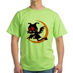 Devil cat 1 Green T-Shirt