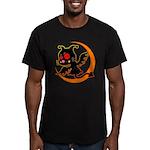 Devil cat 1 Men's Fitted T-Shirt (dark)
