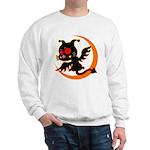 Devil cat 1 Sweatshirt