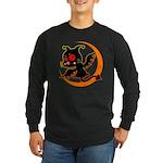 Devil cat 1 Long Sleeve Dark T-Shirt