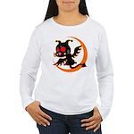 Devil cat 1 Women's Long Sleeve T-Shirt