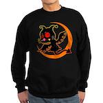 Devil cat 1 Sweatshirt (dark)