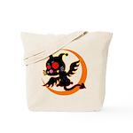 Devil cat 1 Tote Bag