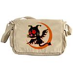 Devil cat 1 Messenger Bag