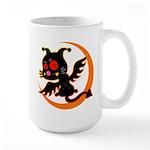 Devil cat 1 Large Mug