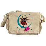 Devil cat 2 Messenger Bag