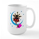 Devil cat 2 Large Mug