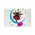 Devil cat 2 Rectangle Magnet (100 pack)