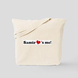 Samir loves me Tote Bag