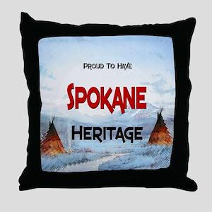Spokane Heritage Throw Pillow