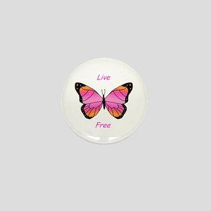 Live Free Mini Button