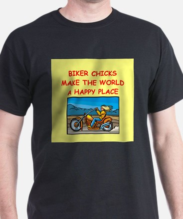biker chicks T-Shirt