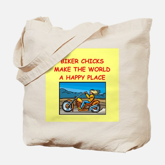 biker chicks Tote Bag