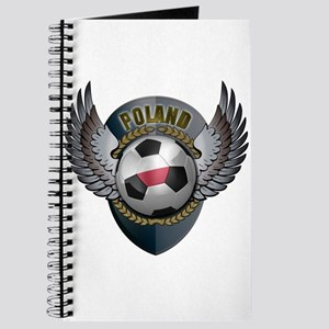 Polish soccer ball with crest Journal