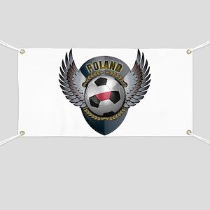 Dutch soccer ball with crest Banner