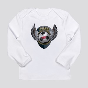 Polish soccer ball with crest Long Sleeve Infant T