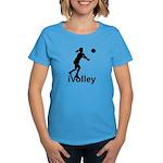 iVolley Women's Dark T-Shirt