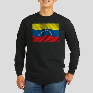 Flag of Venezuela Long Sleeve Dark T-Shirt