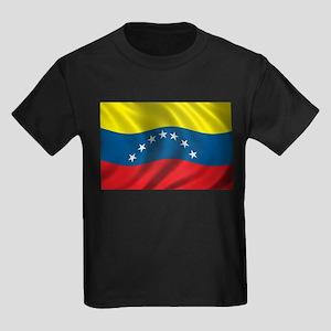 Flag of Venezuela Kids Dark T-Shirt