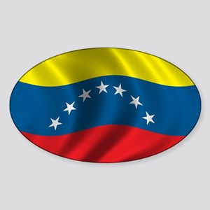 Flag of Venezuela Sticker (Oval)
