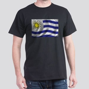 Flag of Uruguay Dark T-Shirt