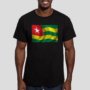 Flag of Togo Men's Fitted T-Shirt (dark)