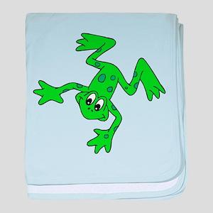 Froggy baby blanket