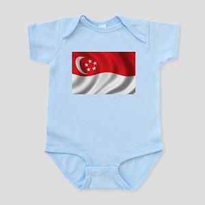 Flag of Singapore Infant Bodysuit