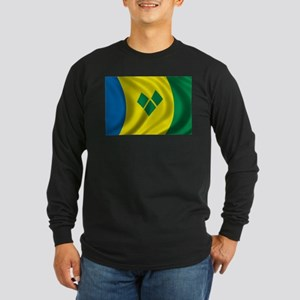 Flag of Saint Vincent and the Grenadines Long Slee